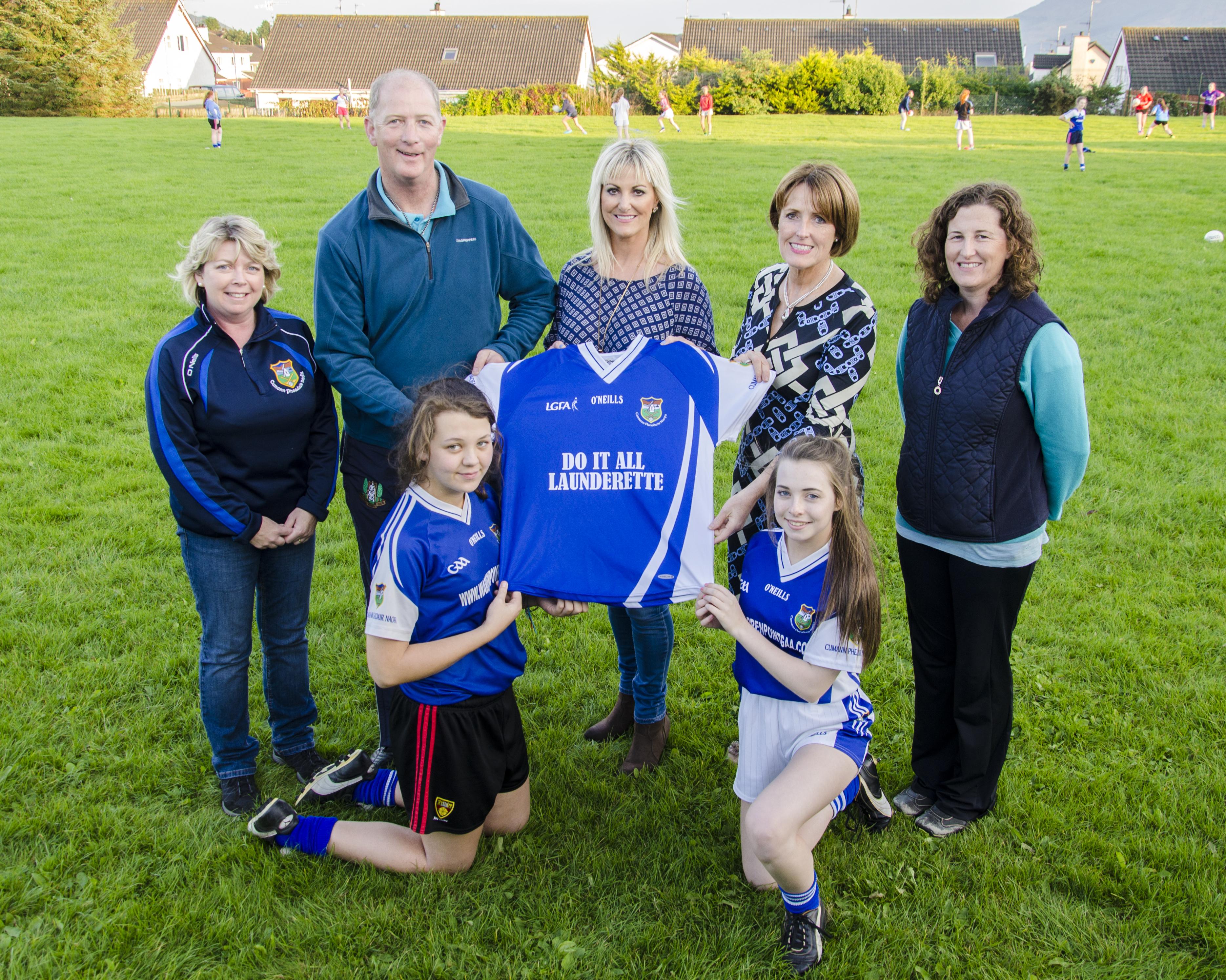 New  U-16 Ladies Gaelic Football jersey