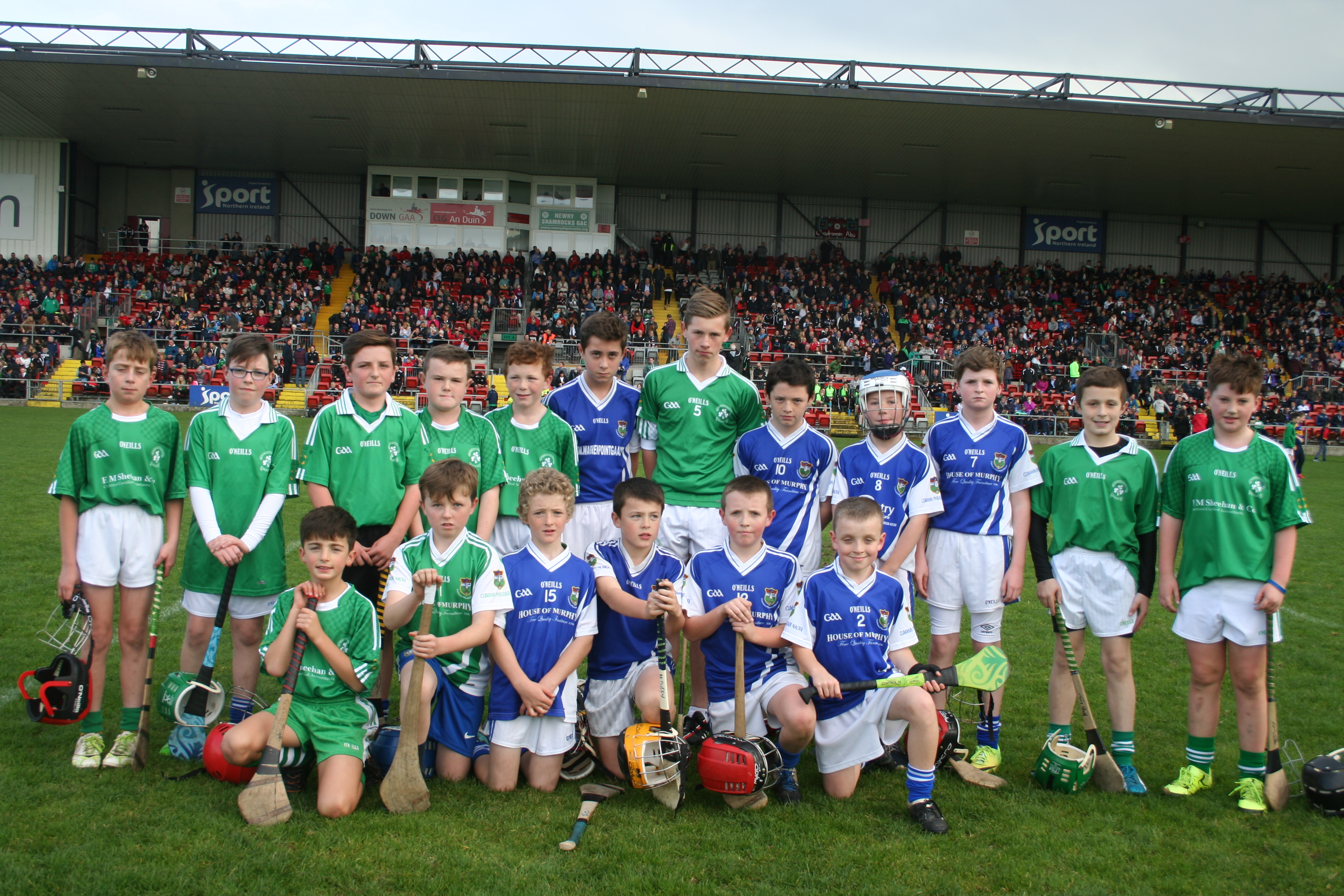 CPN Hurlers entertain large Páirc Esler crowd
