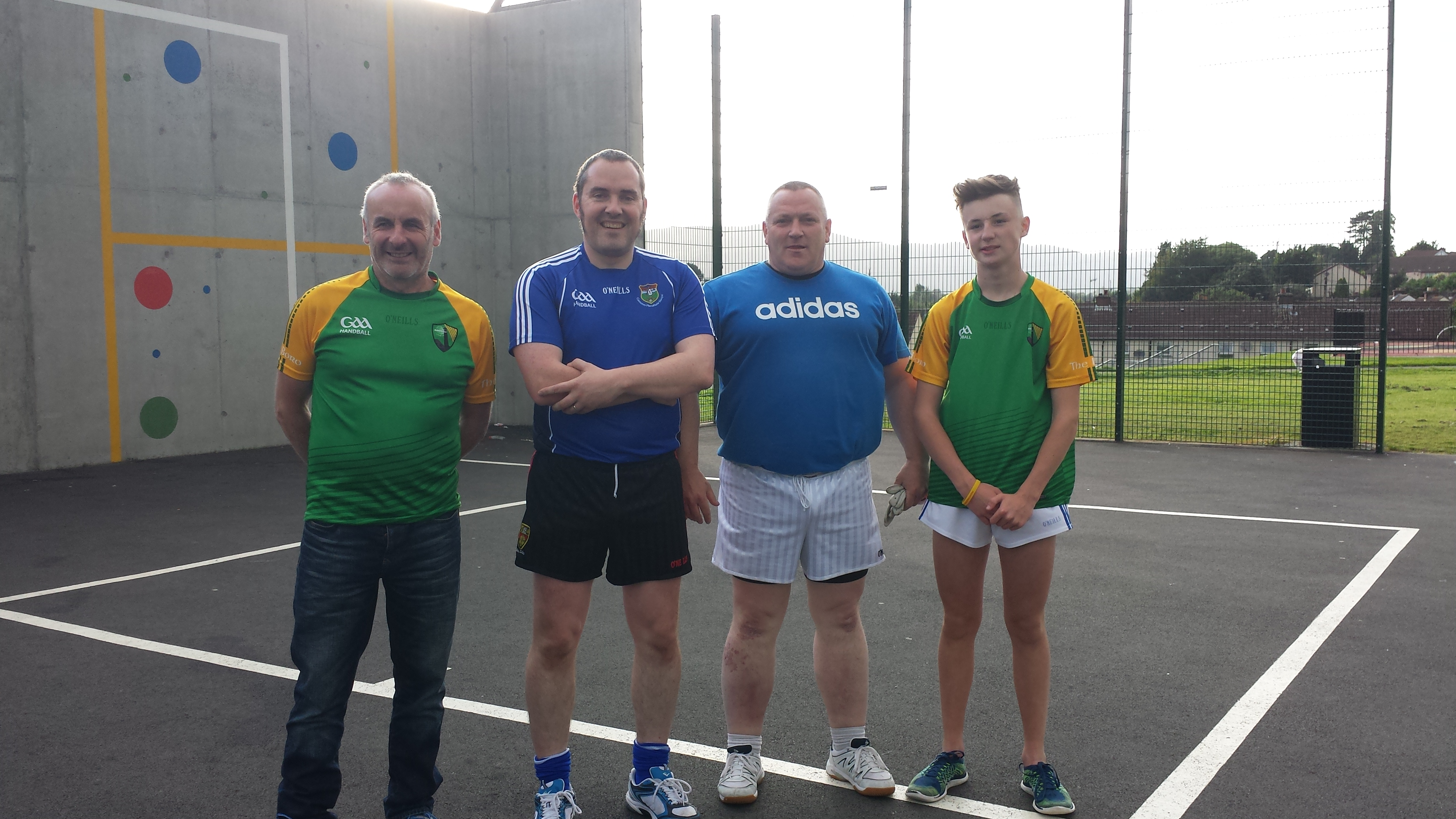 Inaugural Maiden of the Mournes Handball Tournament