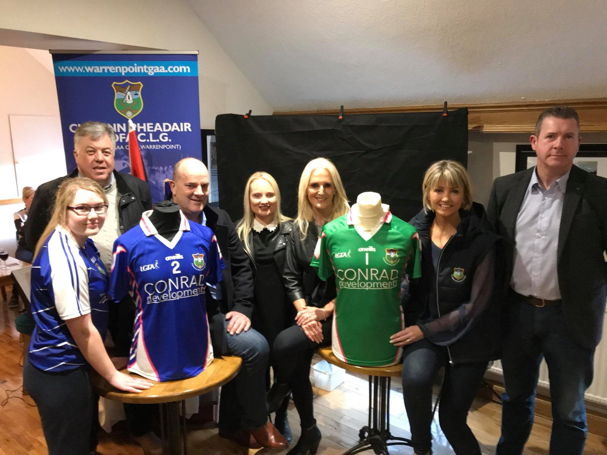 Conrad Developments Sponsor Ladies Senior Jersey