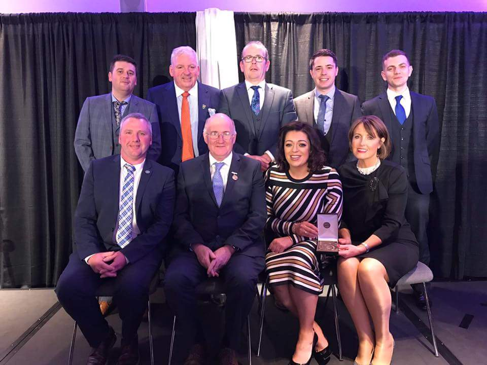 Cumann Pheadair Naofa Win MacNamee Award