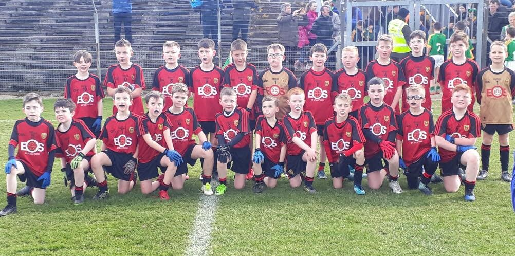 U-10 Team represent Club and County