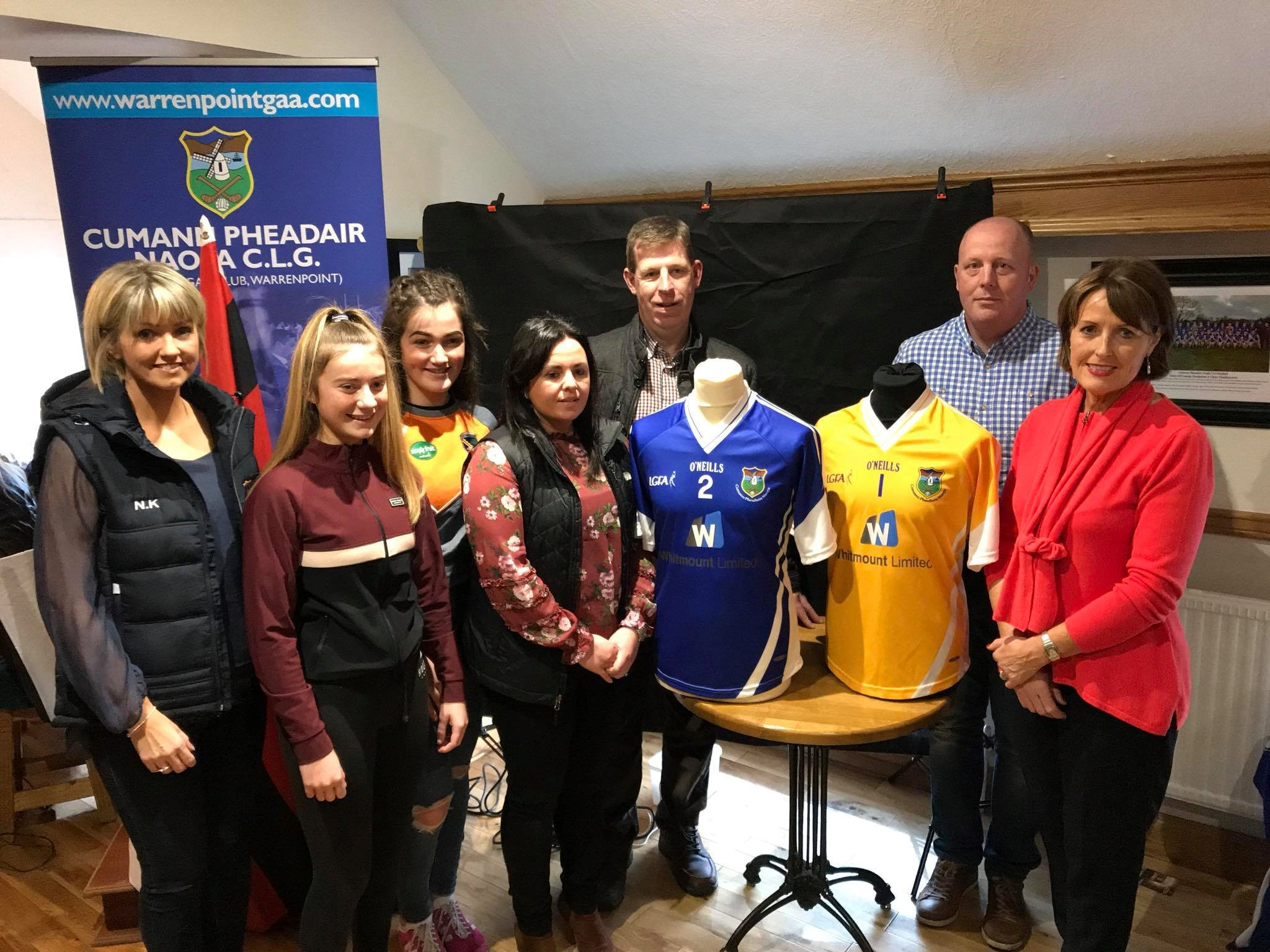 Whitmount Limited Sponsor  U-16 Ladies  Football Jersey