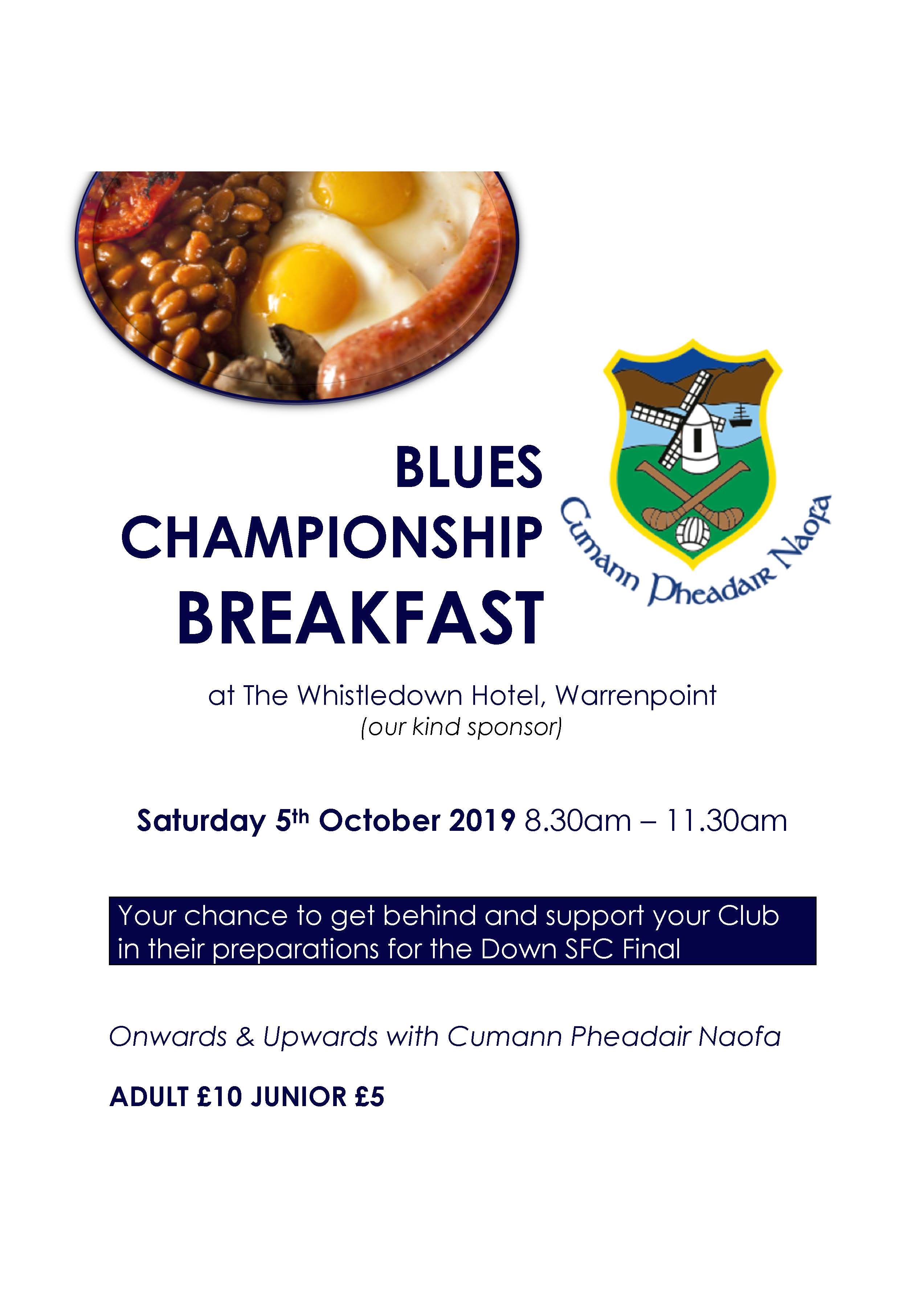 Blues Championship Final Patron